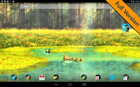 Ducks 3D Live Wallpaper FREE screenshot 11