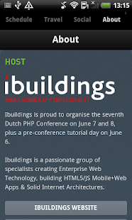 Dutch PHP Conference - screenshot thumbnail