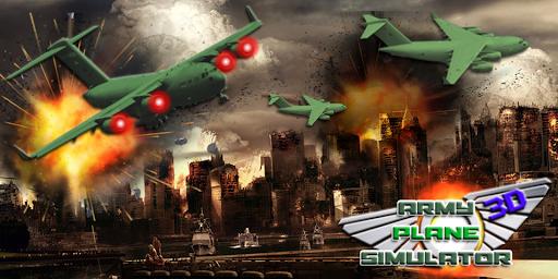 Army Plane 3D Simulator