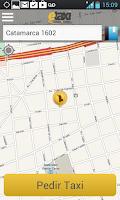 Screenshot of eTaxi Argentina