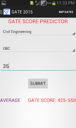 GATE 2015 GUIDE