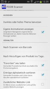 FDDB Scanner- screenshot thumbnail