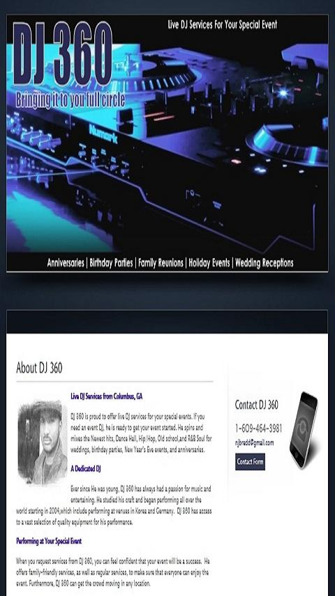 DJ 360 - Mobile App - screenshot