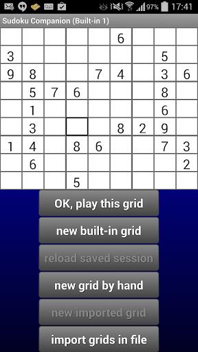 Sudoku Companion