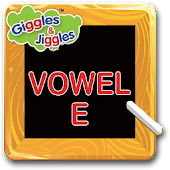 English Vowel E for LKG Kids