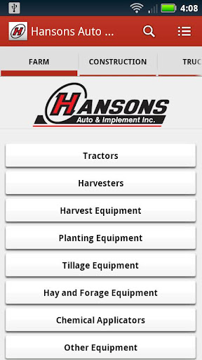 Hansons Auto Implement