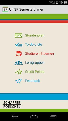 UniSP - Semesterplaner