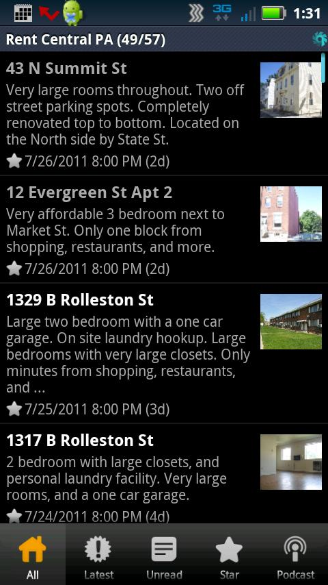 Apartment Search Central PA- screenshot