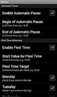 Screenshot of Track Work Time