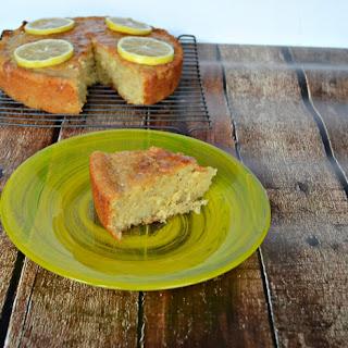 Gluten Free Lemon Drizzle Cake #SundaySupper