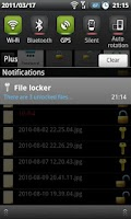 Screenshot of File Locker