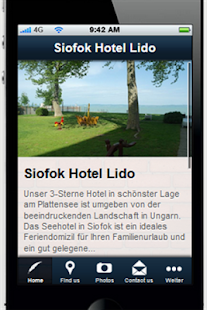 Siofok Hotel Lido - screenshot thumbnail