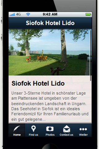Siofok Hotel Lido - screenshot