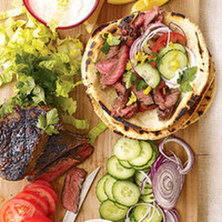 Sliced Steak Gyros