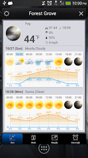 World Weather Clock Widget - screenshot thumbnail