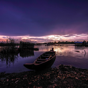 going sleep  by Arik S. Mintorogo - Landscapes Sunsets & Sunrises (  )