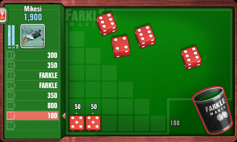 FARKLE- screenshot