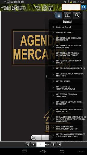 Agenda Mercantil ISEF 2013