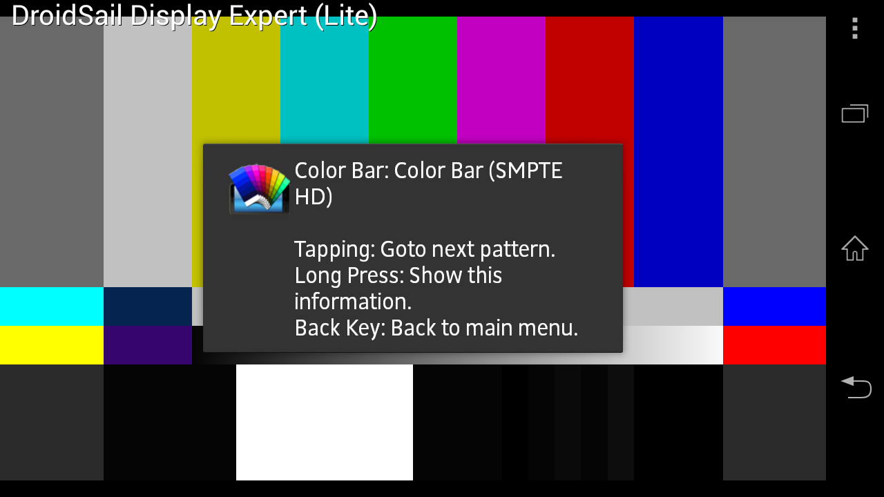 DS Display Expert(Lite) - screenshot