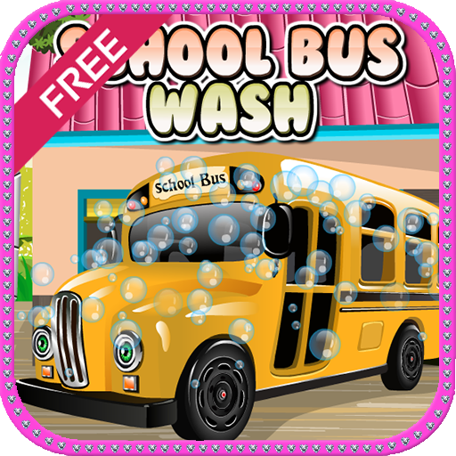 School Bus Car Wash 休閒 LOGO-玩APPs
