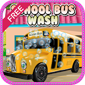 School Bus Wash Games