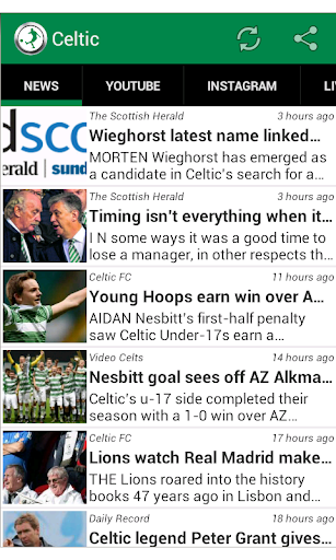 Celtic FC Fan App
