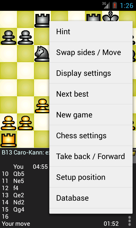 Chess Genius- screenshot