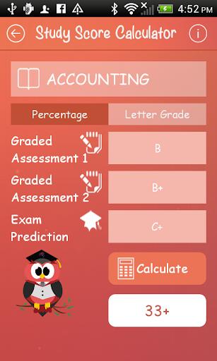 how to predict study score