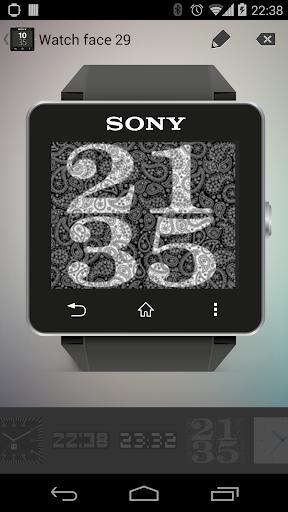 Digital Watchfaces SmartWatch2