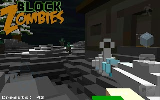 Screenshot of Block Warfare: Zombies