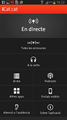 iCat.cat - screenshot