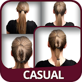 Casual Hairstyles tutorial