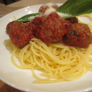 Spaghetti Meatballs.