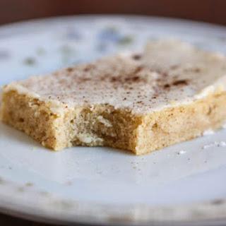 Cinnamon Buttermilk Cake with Vanilla Buttercream Frosting