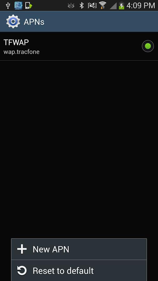 Telcel America Data Settings - screenshot