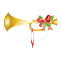 Christmas/New Year Horn logo