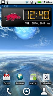 Arkansas Clock Widget- screenshot thumbnail