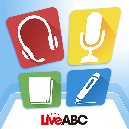 LiveABC elearning 教育 LOGO-阿達玩APP