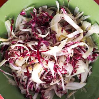 Fennel and Radicchio Salad With Tangerine Vinaigrette