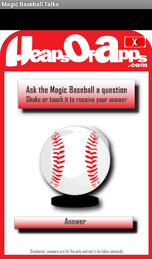 Magic Baseball Talks