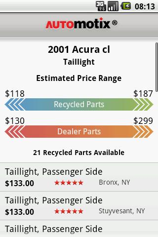 Car Parts- screenshot