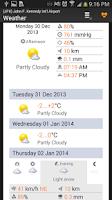 Screenshot of Airline Flight Status Tracking
