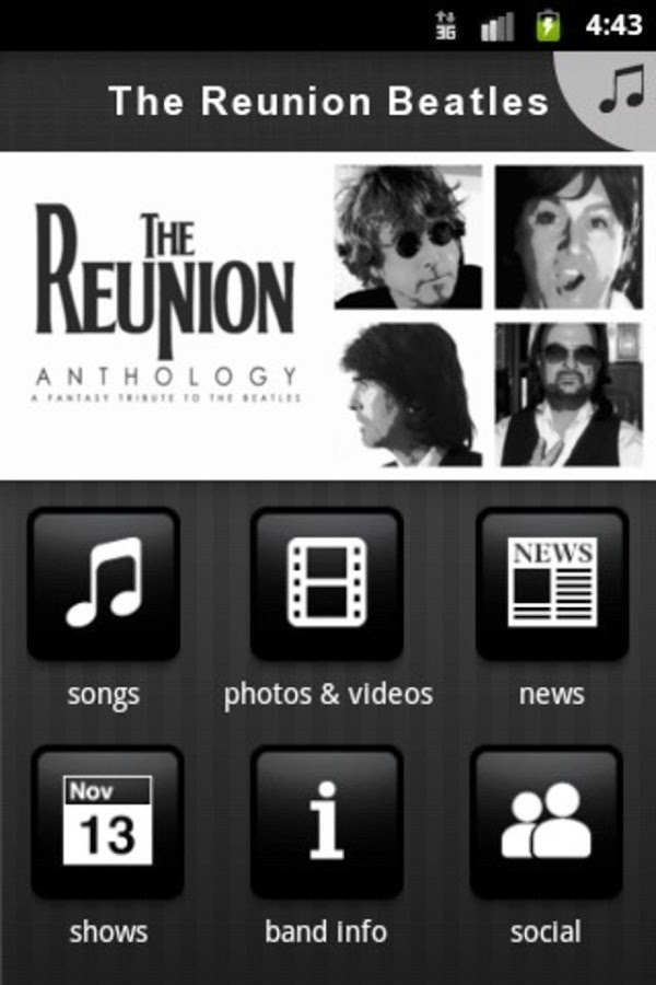 The Reunion Beatles - screenshot