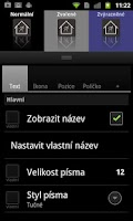 Screenshot of Lightning Launcher - Czech