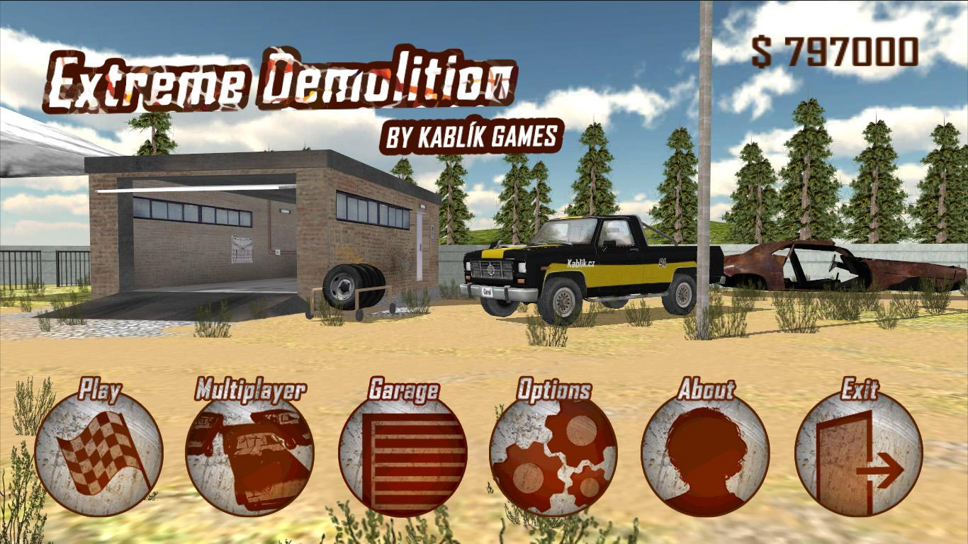 Extreme Demolition- screenshot