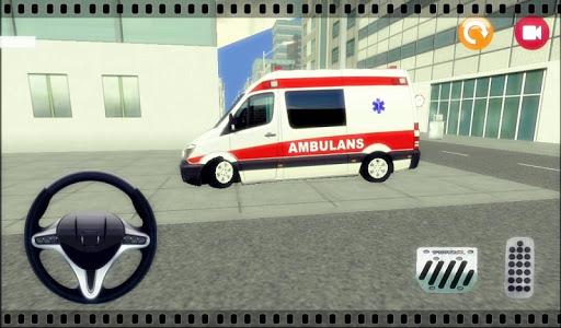 Trafikte Ambulans Sürme 3D