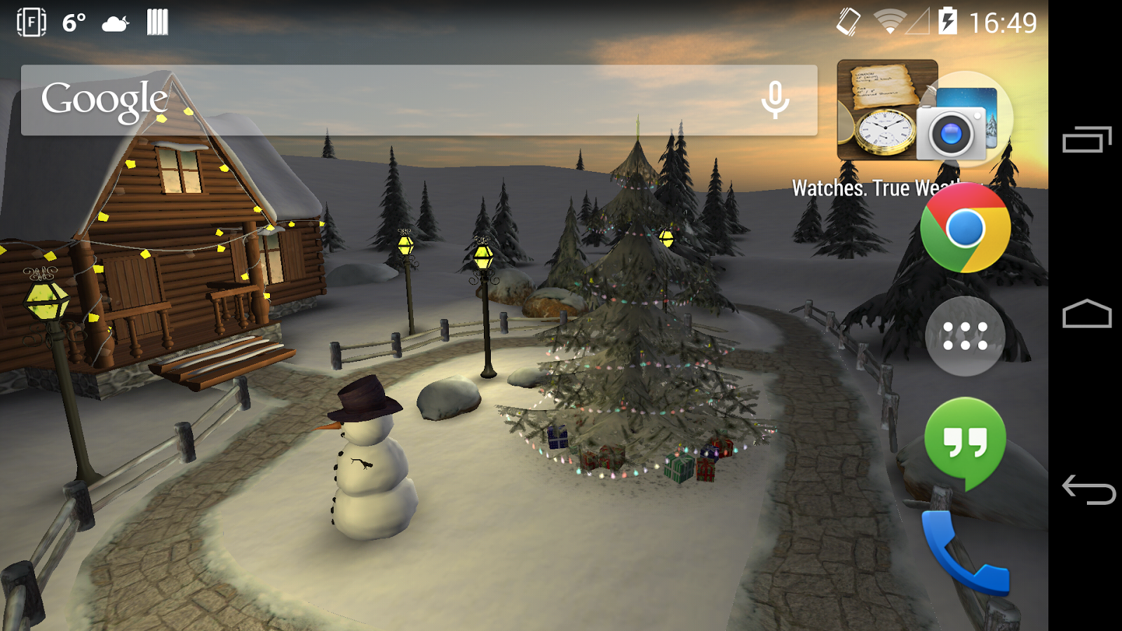 Winter 3D, True Weather - screenshot