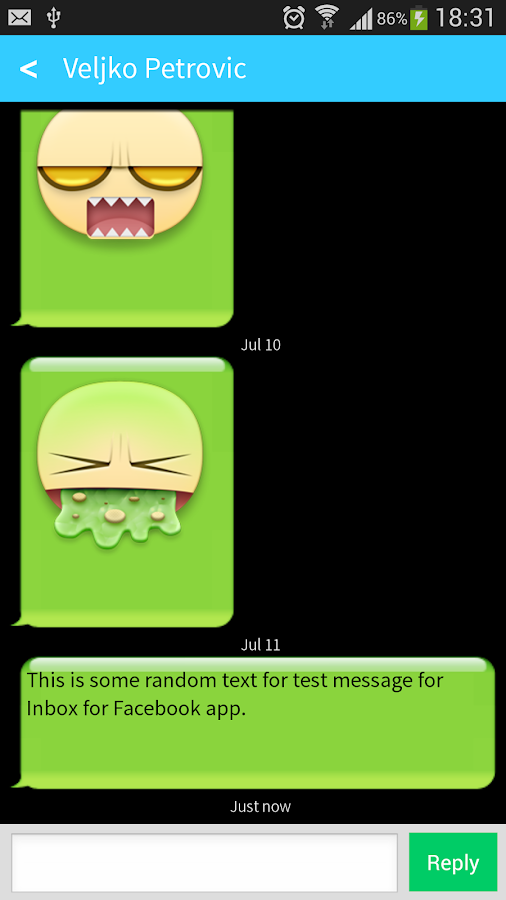 Messenger Fast for Facebook - screenshot