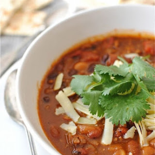Classic Beef and Bean Chili.