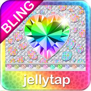 ♦BLING Theme♦ Rainbow Cheetah for Android